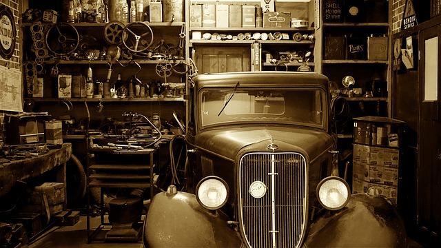 Garage für meinen Oldtimer